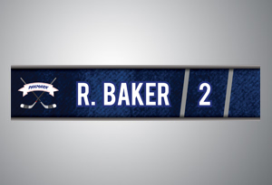 Locker Nameplates